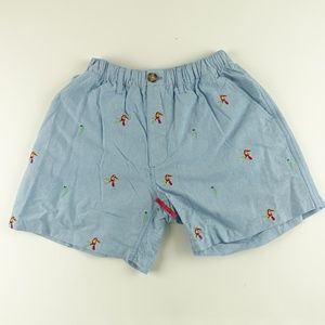 Chubbies Men Parrot Embroidery Summer Shorts A6305